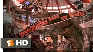 Jurassic Park (1993) - T-Rex vs. the Raptors Scene (10/10) | Movieclips