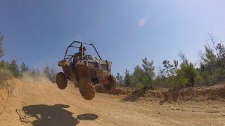 8. Polaris ACE getting sick AIR wheelies hill climbs drag and spills CAW Adventure world