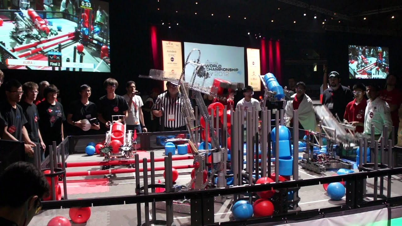 MEXICO CAMPEON MUNDIAL VEX ROBOTICS 2012