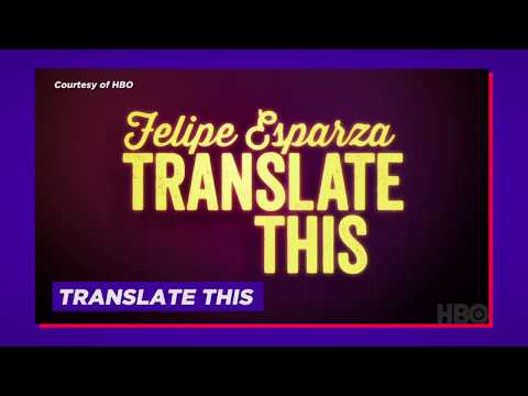 Felipe Esparza From HBO's Translate This | The Zoo