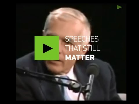 Speeches that still matter: Gen Wesley Clark on US going to war in 7 countries in 5 yrs