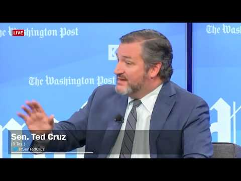 Sen. Ted Cruz says we should stand up to voices like Infowars host Alex Jones, not silence them