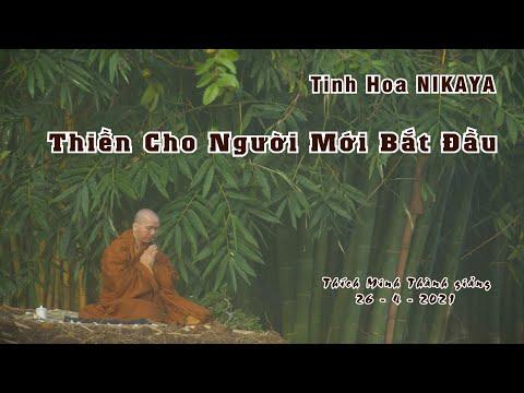 Tinh Hoa NIKAYA _ Thiền Cho Người Mới Bắt Đầu