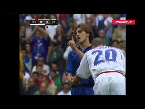 France 0 - 0 : 4-3 Italie - Quart de Finale - Coupe du monde 1998 - Prolongations + Tirs au but