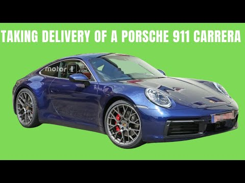 Taking Delivery of a Porsche 911 Paying Cash for Porsche 911 and the Facts of Making Money