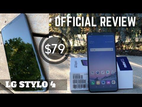 LG STYLO 4 FULL REVIEW! 2018