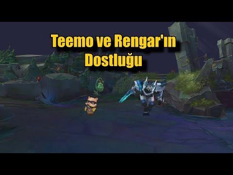 Teemo ve Rengar'ın Dostluğu! Bir Top Oyuncusunun Ormancıya İsyanı!