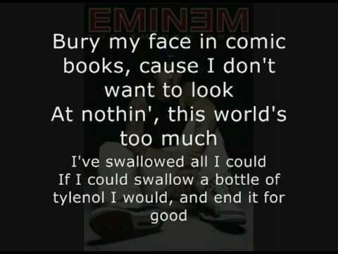 Eminem - Say Goodbye Hollywood + Lyrics