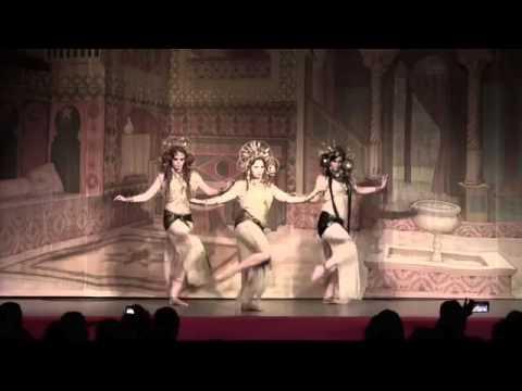 Rachel Brice's Datura at Tribal Fest 13 - Fragment Trio and Solo (видео)