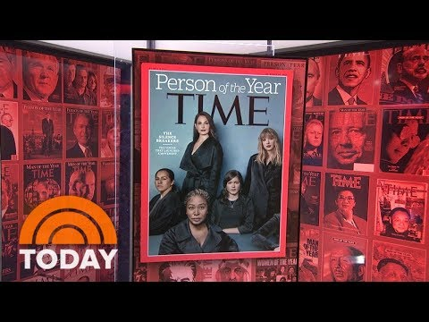 TIME Person Of The Year Revealed: The Silence Breakers | TODAY