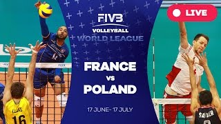 Poligne France  city images : France v Poland - Group 1: 2016 FIVB Volleyball World League