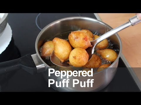 Peppered Puff Puff | All Nigerian Recipes