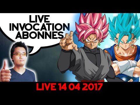 Live INVOCATION ROSE / BLUE POUR ABONNES