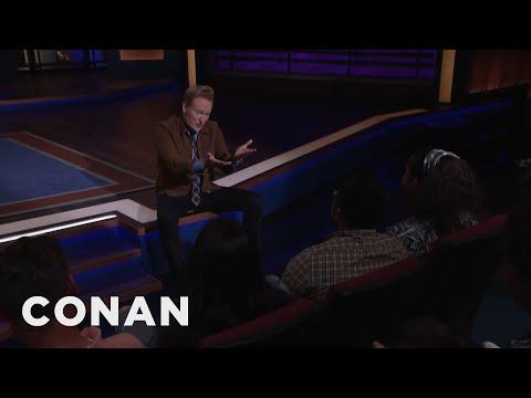 Kumail Nanjiani Can't Make It To CONAN - CONAN on TBS