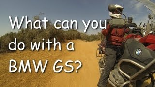 3. What can you do with a BMW R1200GSA and a F800GS?