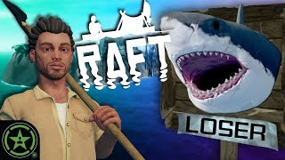 We're Shark Head Hunters Now - Raft (New Update): Part 3 by Let's Play