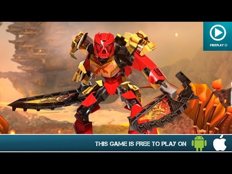 LEGO BIONICLE Mask Of Creation – Free On Android & iOS – Gameplay