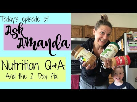 Ask Amanda #2: How I Lost 100 Pounds, Nutrition Questions And Answers, And 21 Day Fix