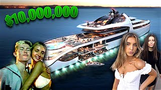 WE THREW A MASSIVE YACHT PARTY! *DON'T WATCH THIS MOM*