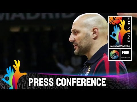 Conference - The 2014 FIBA Basketball World Cup will take place in Spain from 30 August - 14 September and will feature the best international players from all continents. Watch all games live on www.livebaske...
