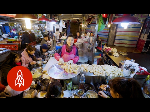 The Best Place for Street Food in South Korea