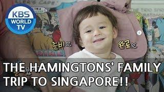 Video The Hammingtons' family trip to Singapore!! [The Return of Superman/2018.07.22] MP3, 3GP, MP4, WEBM, AVI, FLV Desember 2018