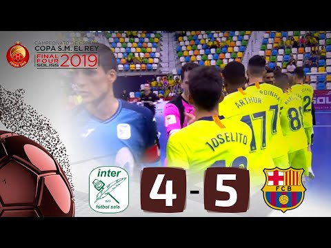 RESUMEN | Inter Movistar 4-5 FC Barcelona Lassa. Soliss Final Four 2019