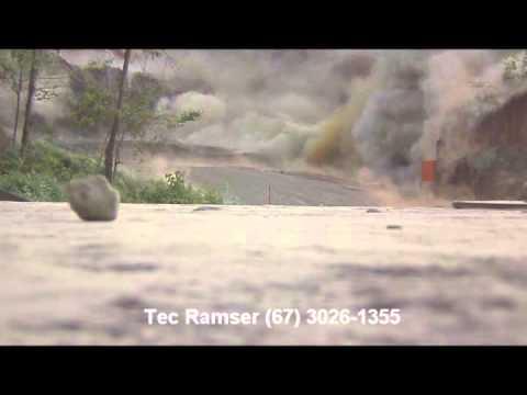 Detonação em pedreira (Tec Ramser)