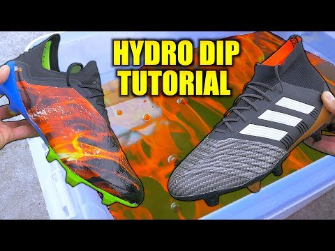 How To Hydro Dip Your Football Boots!