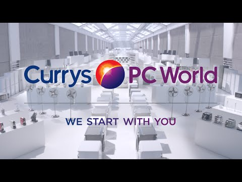 Currys PC World looks to support the customer in 'We Start With You' creative video