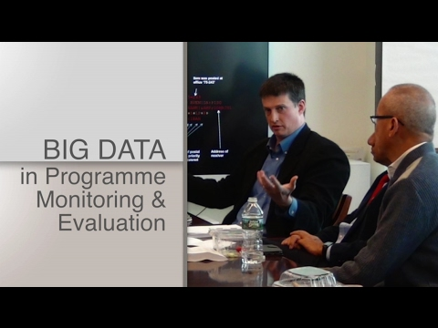 Webinar: Integrating Big Data into the M&E