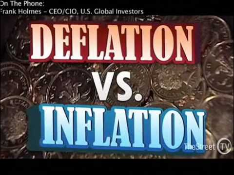 HiredGunz98 - Frank Holmes, CEO and Chief Investment Officer of U.S. Global Investors, argues that deflation and the dollar are the main factors moving gold futures and he...