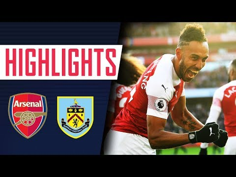 Ozil Is Back And Aubameyang's On Fire! | Arsenal 3 - 1 Burnley | Goals And Highlights