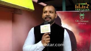 Sam Paul at Patra Movie Audio Launch