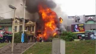Cháy Nhà ở Cửa Hàng Nội Thất 114 Âu Cơ