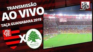 FLAMENGO 3X1 BOAVISTA   TAÇA GUANABARA - CARIOCA 2019