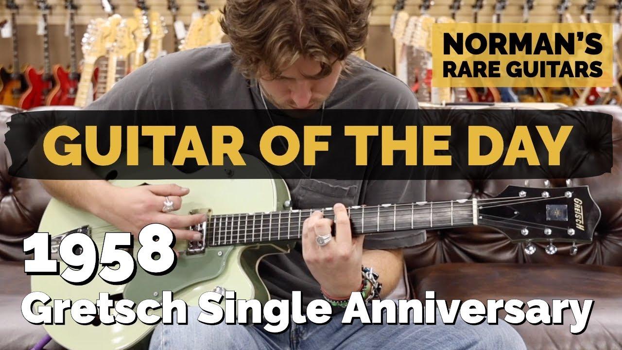 Guitar of the Day: 1958 Gretsch Single Anniversary | Norman's Rare Guitars