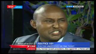 JKL: Politics 101(The Race to 2017); Junet Mohamed and Moses Kuria, 28/09/2016 Part 1