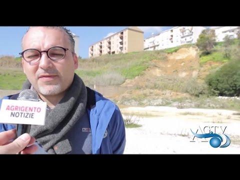 Intervento di Marco Vullo sulla frana a Monserrato