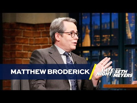 Matthew Broderick Was Asked to Be in the Manhattan Jewish Hall of Fame