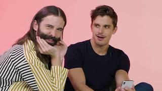 Jonathan Van Ness and Antoni Porowski Swipe For A Tinder User | Swipe Session | Tinder