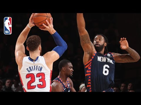 Video: Full Game Recap: Pistons vs Knicks | Blake Griffin Leads Detroit In MSG