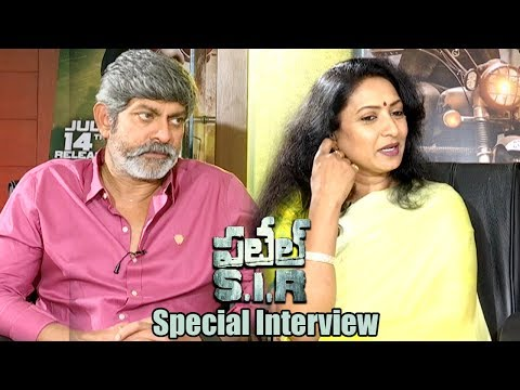 Patel Sir Movie Special Interview || Jagapathi Babu, Aamani
