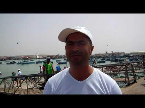أحمد الركراكي يتحدث عن مشاركة القصر الكبير في نشاط بيئي بشاطئ العرائش
