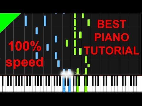 Stoker - Duet (Philip Glass) piano tutorial