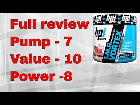 Top Pre Workout 1MR Vortex by BPI Sports Review   India + हिंदी