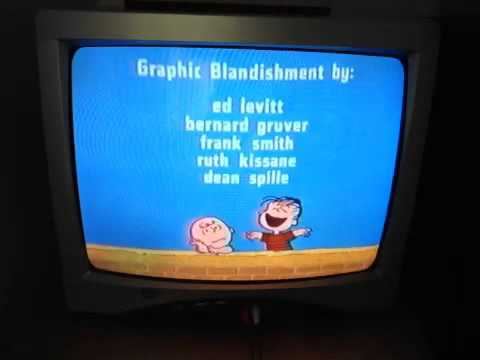 Closing To It's The Great Pumpkin Charile Brown 1996 VHS
