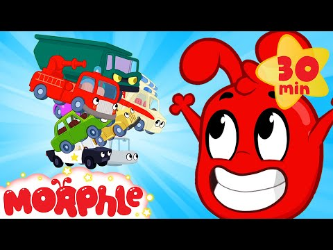 The Vehicles are ALIVE! - Mila and Morphle | Cars, Trucks and more | Cartoons for Kids | Morphle TV