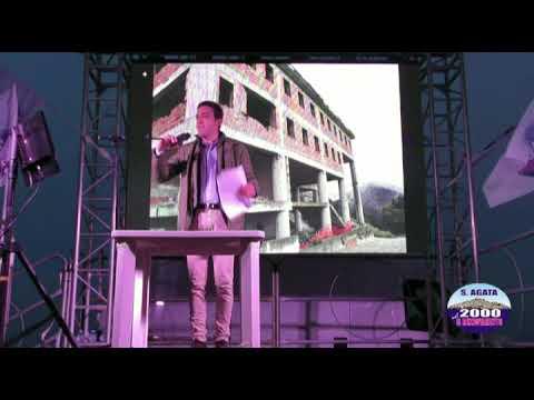 Comizio di chiusura campagna elettorale Santagata nel 2000 - Il Rinnovamento