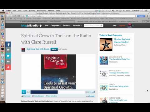 Spiritual Growth Tools Interview with Clare Russell